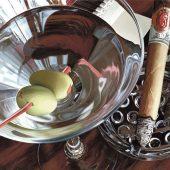 Martini-Cigar by Thomas Arvid
